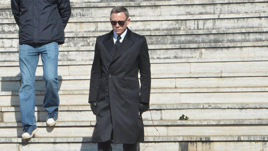 """Daniel Craig: Nach Knie-OP geht's jetzt weiter mit """"Spectre"""""""
