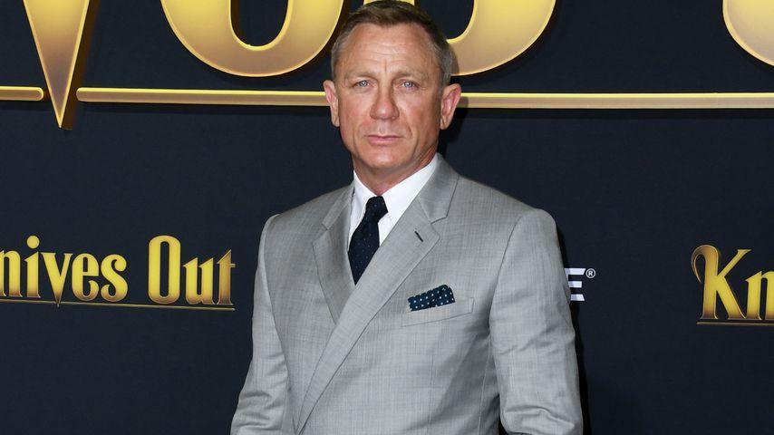 """Daniel Craig bei der Premiere von """"Knives Out"""" in Westwood"""
