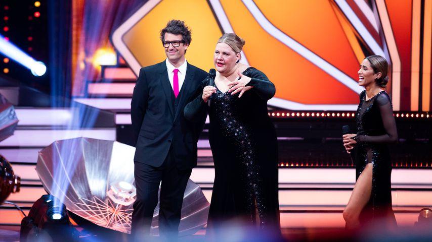"Daniel Hartwich, Ilka Bessin and Sabrina Setlur bei ""Let's Dance"""