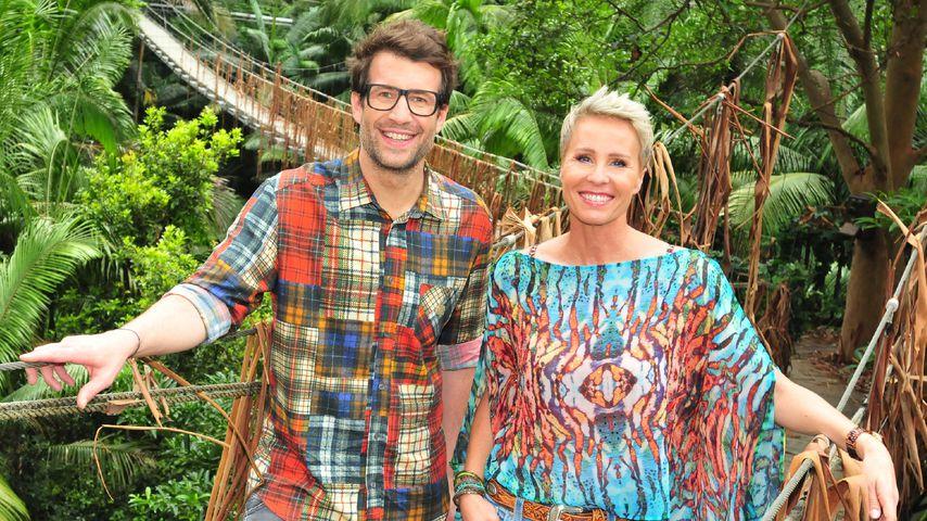 Daniel Hartwich und Sonja Zietlow im Dschungelcamp 2017