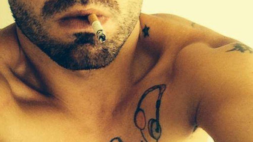 Wer versteckt sich hinter diesem Walkman-Tattoo?
