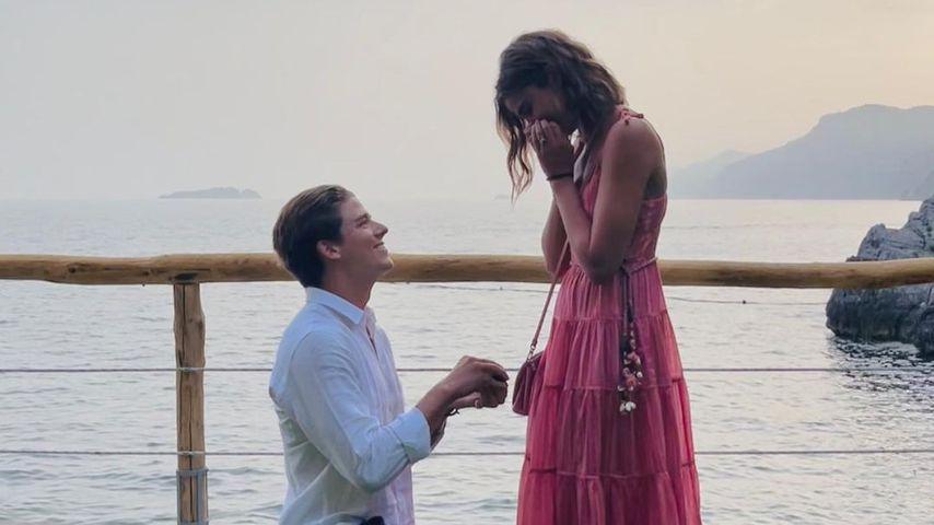 Taylor Hill und ihr Verlobter Daniel im Juni 2021