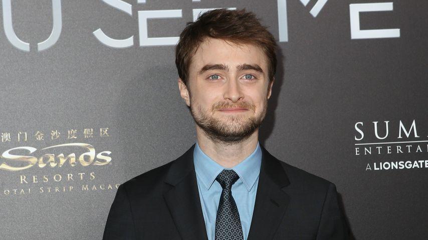 Daniel Radcliffe bei der Premiere von Die Unglablichen 2