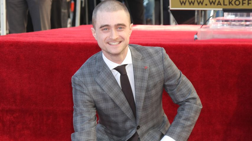 Daniel Radcliffe am Walk of Fame in Hollywood