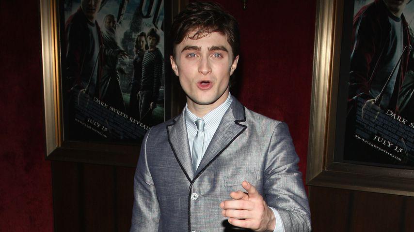 """Daniel Radcliffe 2009 bei der Premiere von """"Harry Potter and the Half-Blood Prince"""" in New York"""
