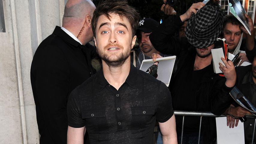 Verzaubert? Daniel Radcliffe dreht am Set total durch