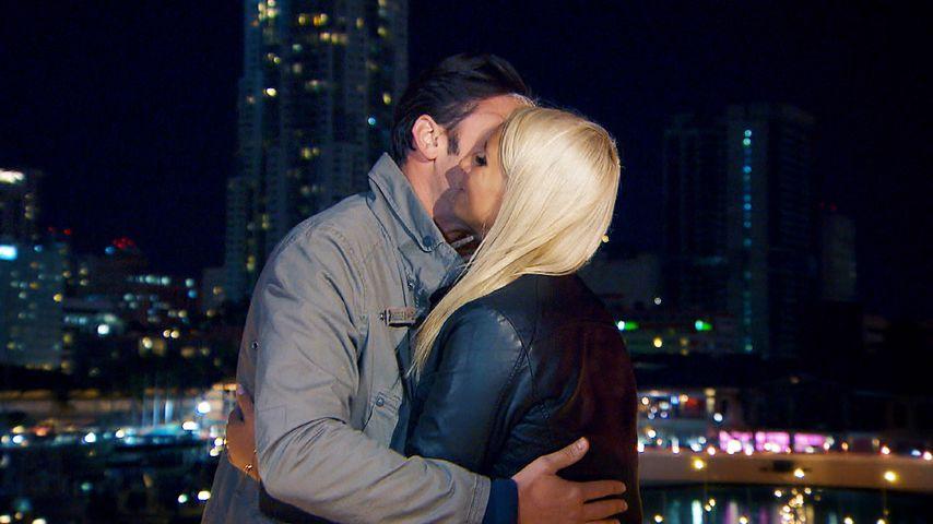 Daniel und Carina nach ihrem romantischen Dinner