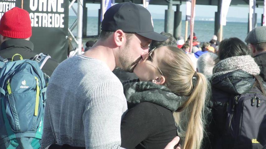 Daniel Völz und Lisa auf Usedom