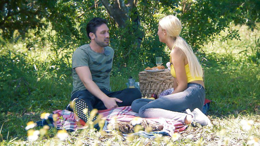 "Daniel Völz und Lina Kolodochka in der dritten Folge ""Der Bachelor"""