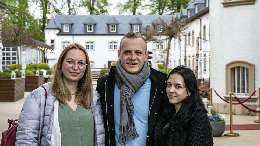 Daniela, Ben und Larissa