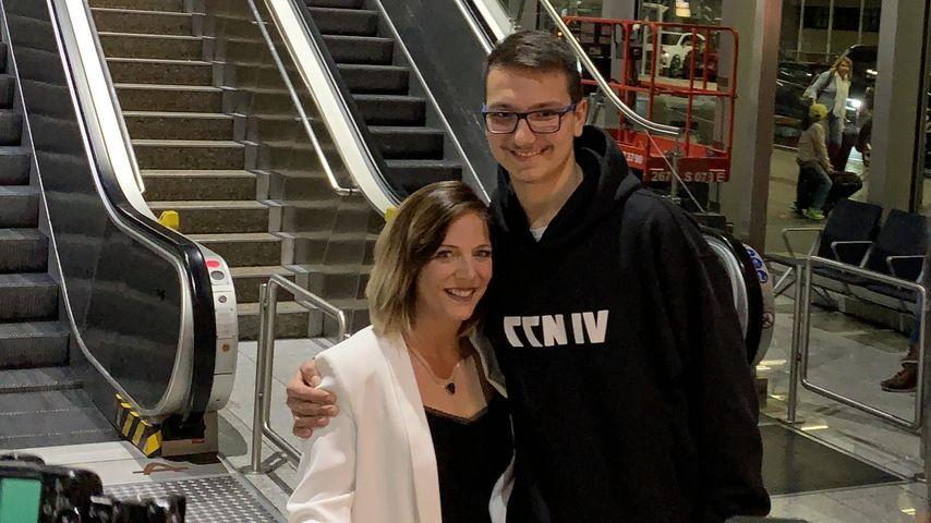 Daniela Büchner mit ihrem Sohn Volkan