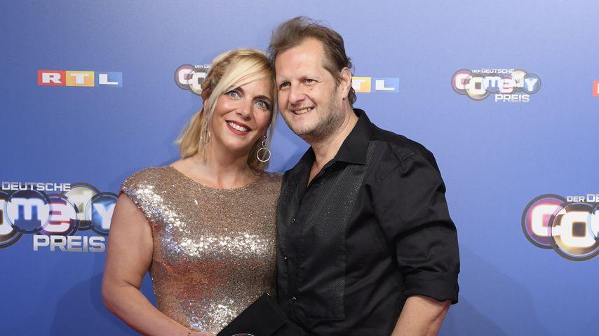 Daniela Büchner und ihr Mann Jens, Oktober 2018
