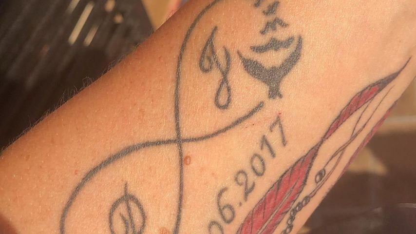 Daniela Büchners Liebes-Tattoo für Jens