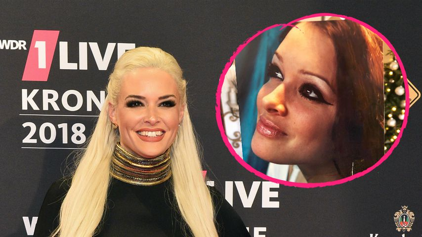 XXL-Eyeliner: Daniela Katzenberger zeigt Styling-Anfänge