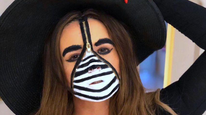 Daniela Katzenberger an Halloween 2019