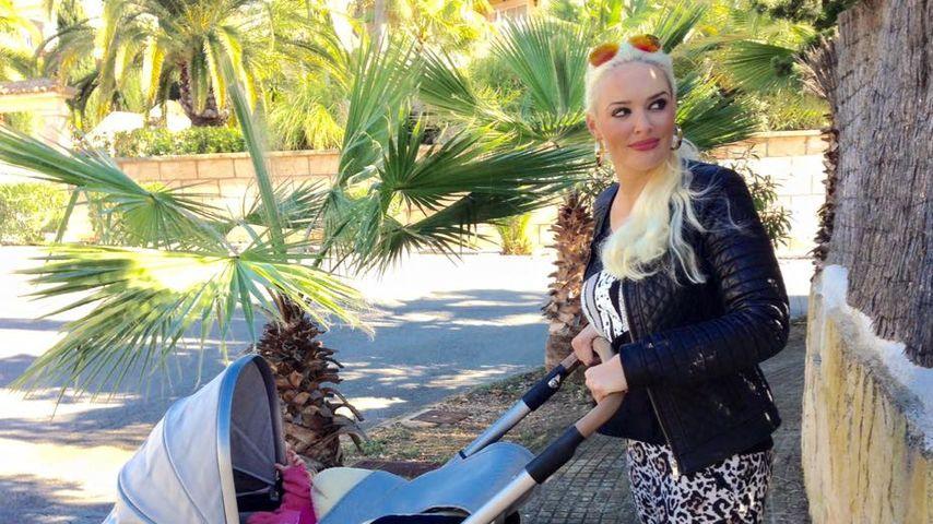 Letzter Langhaar-Ausflug: Die Katze mit Sophia auf Mallorca