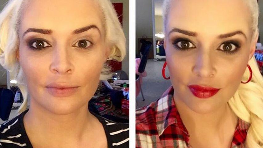 Making-of: So verwandelt sich Dani Katzenberger mit Make-up