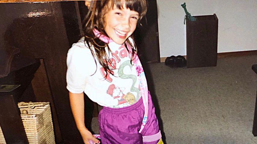 Kinderfoto von Daniela Katzenberger