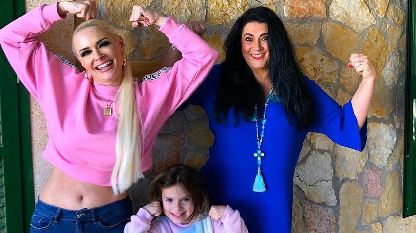 Daniela Katzenberger, Sophia Cordalis und Iris Klein