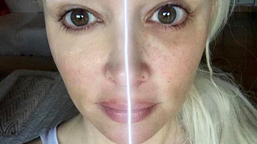 Diamanten? Dani Katzenberger braucht nur Make-Up für's Glück