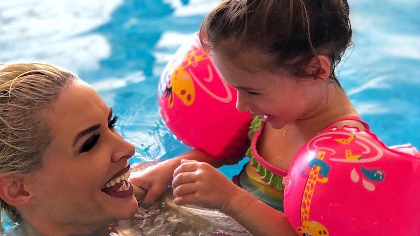 Daniela Katzenberger mit ihrer Tochter Sophia Cordalis