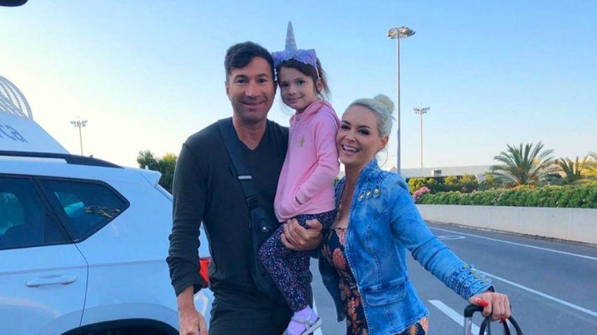 Daniela Katzenberger mit Lucas und Sophia Cordalis