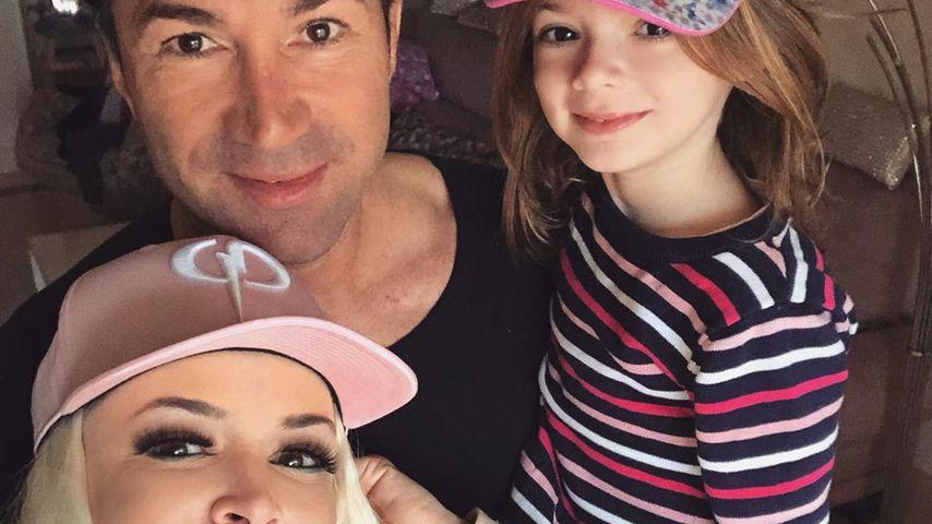 Daniela Katzenberger und Lucas Cordalis mit ihrer Tochter Sophia