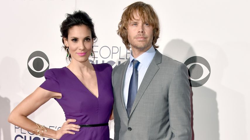 "Daniela Ruah mit Eric Christian Olsen beim ""People's Choice Awards"" in Los Angeles"