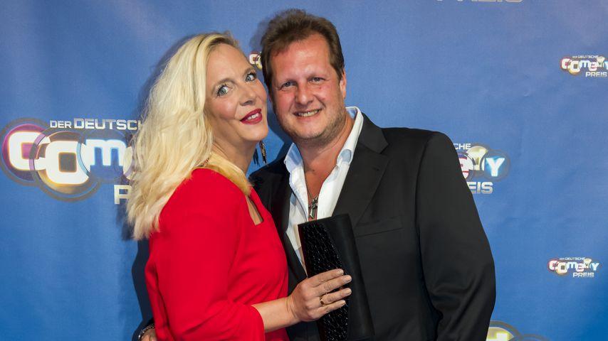 Daniela und Jens Büchner beim Comedypreis 2017