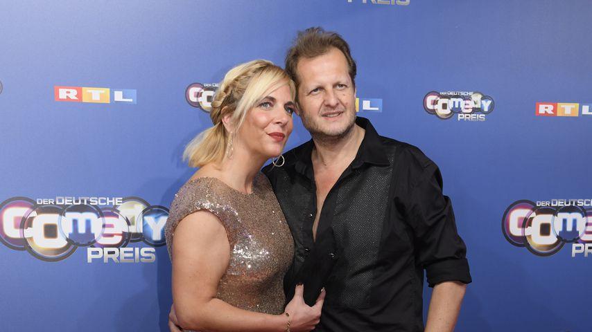 Daniela und Jens Büchner bei der Verleihung des Deutschen Comedypreises 2018