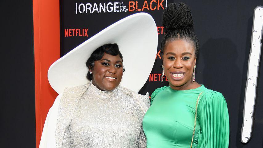 Danielle Brooks und Uzo Aduba, Schauspielerinnen