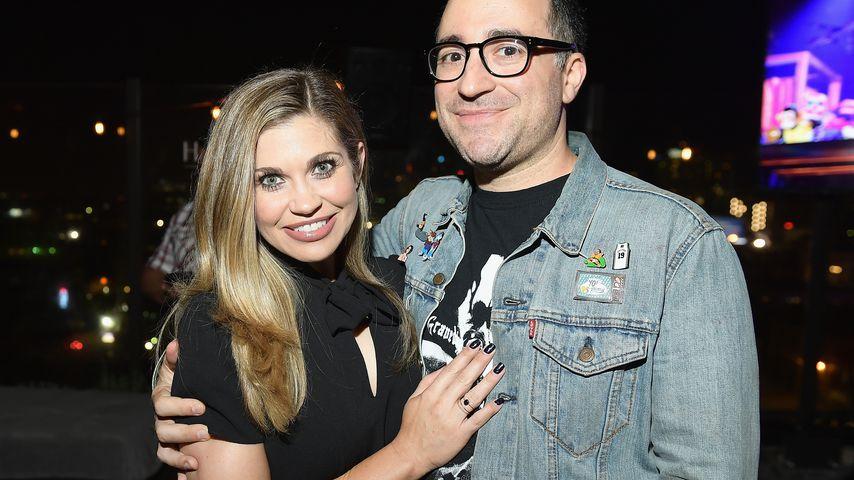 Danielle Fishel und Jensen Karp bei einer Premieren-Party in Hollywood, 2017