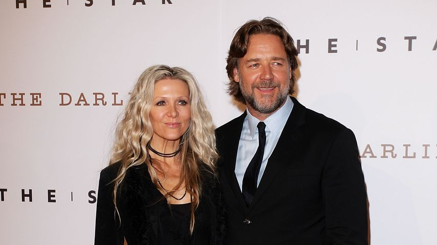 Danielle Spencer und Russell Crowe 2011