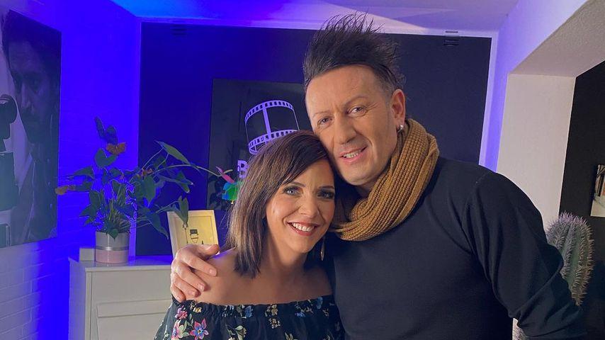 Danni Büchner und Ennesto Monté, Februar 2021