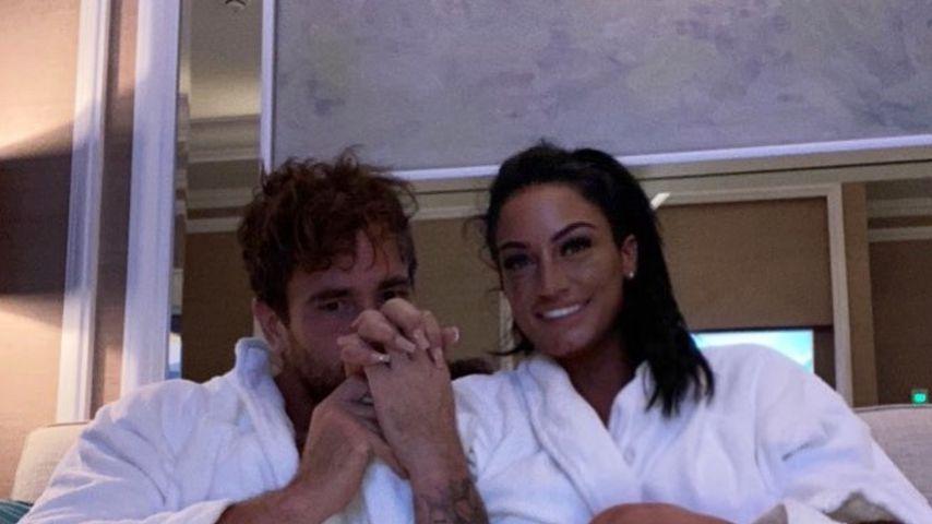 Danny Cipriani und Victoria Rose im Jahr 2020