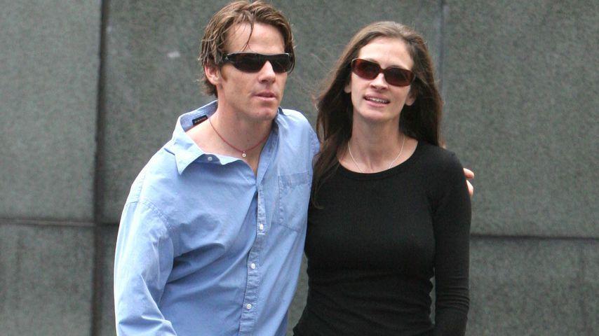 Danny Moder und Julia Roberts in New York, 2005