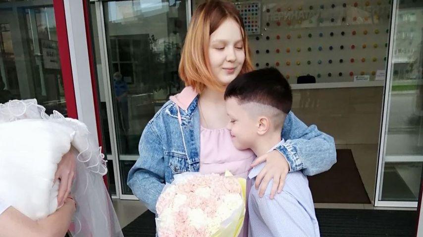 Darya, Ivan und Baby Emily