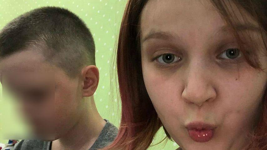 Darya Sudnishnikova und ihr Freund im Jahr 2020