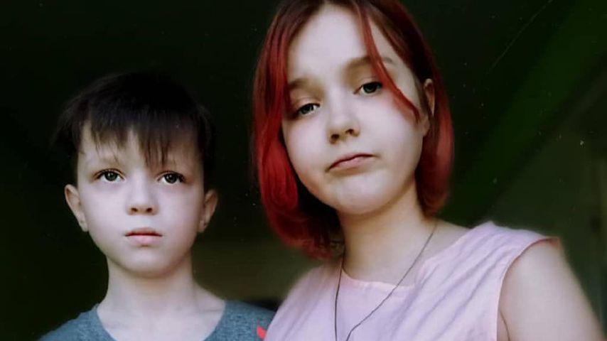 Darya Sudnishnikova (r.) und ihr Freund Ivan im Jahr 2020