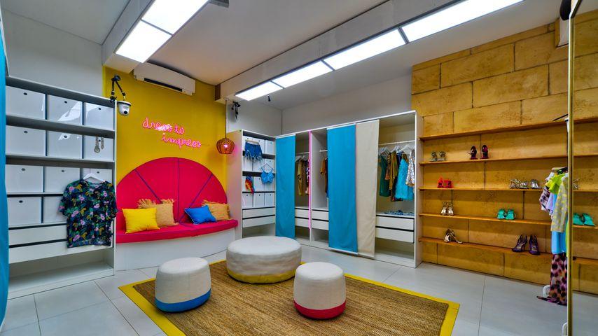 """Das Ankleidezimmer in der neuen """"Love Island""""-Villa"""