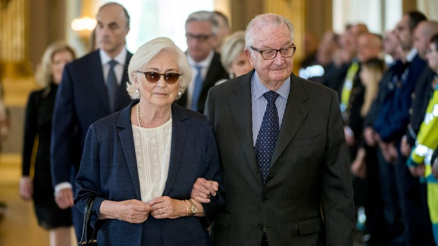 Das ehemalige belgische Königspaar Paola und Albert II.