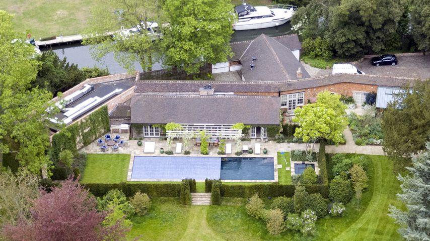 Das Haus von George Clooney und Amal in Berkshire