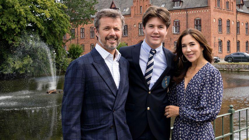 Prinzessin Mary stolz: Sohn Christian geht auf neue Schule