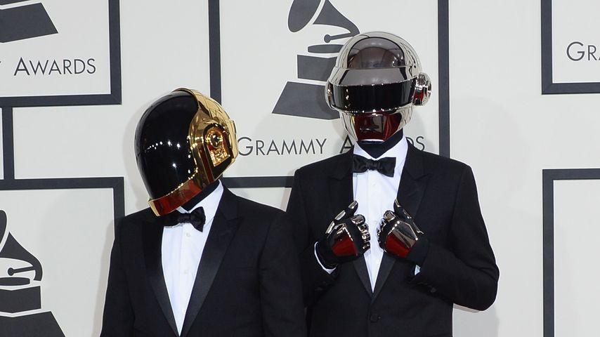 Das Musik-Duo Daft Punk bei den Grammy Awards 2014