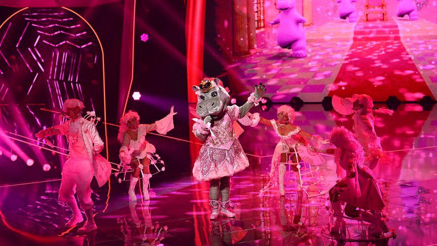 """Das Nilpferd im großen """"The Masked Singer""""-Finale"""