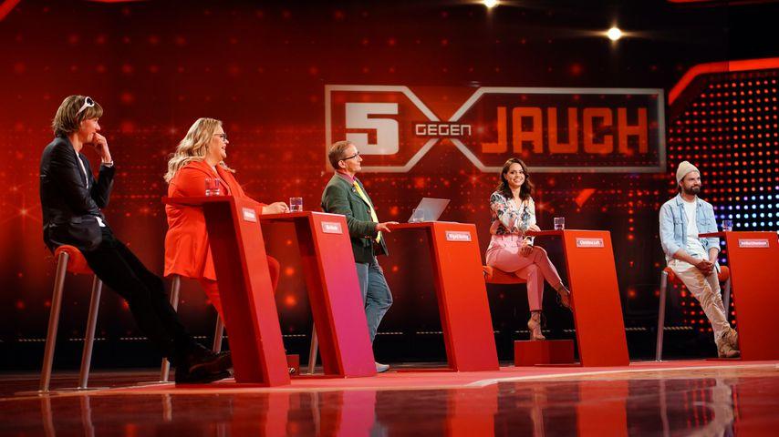 """Das Rateteam bei """"5 gegen Jauch"""""""