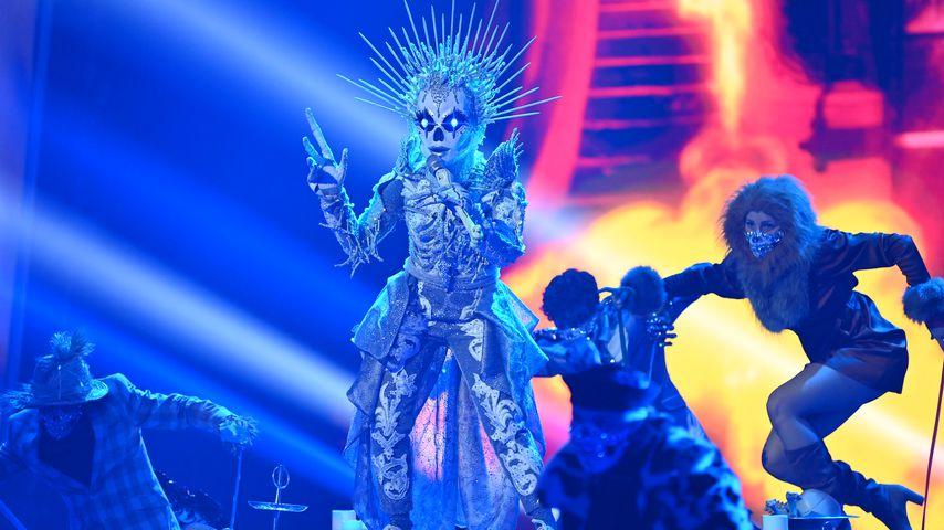 """Das Skelett ohne Rock im """"The Masked Singer""""-Finale"""