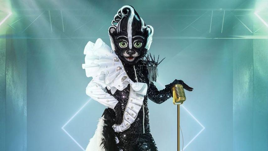 """Das Stinktier aus """"The Masked Singer""""-Staffel fünf"""