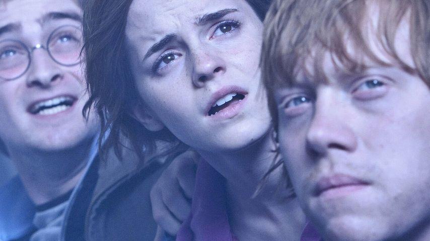 """Daniel Radcliffe, Emma Watson und Rupert Grint in """"Harry Potter"""""""