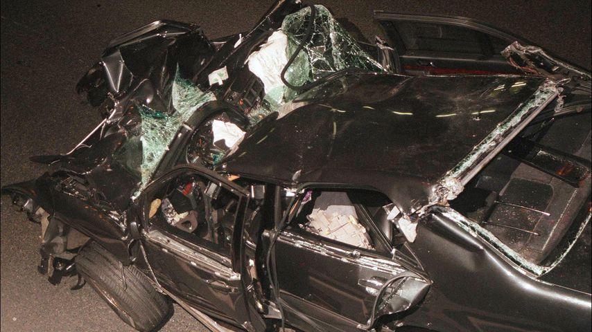 Das Unfallauto von Prinzessin Diana